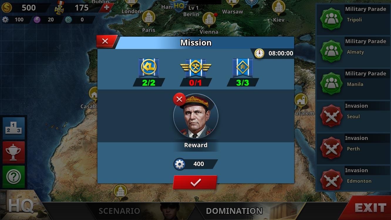 World Conqueror 4 - Manual